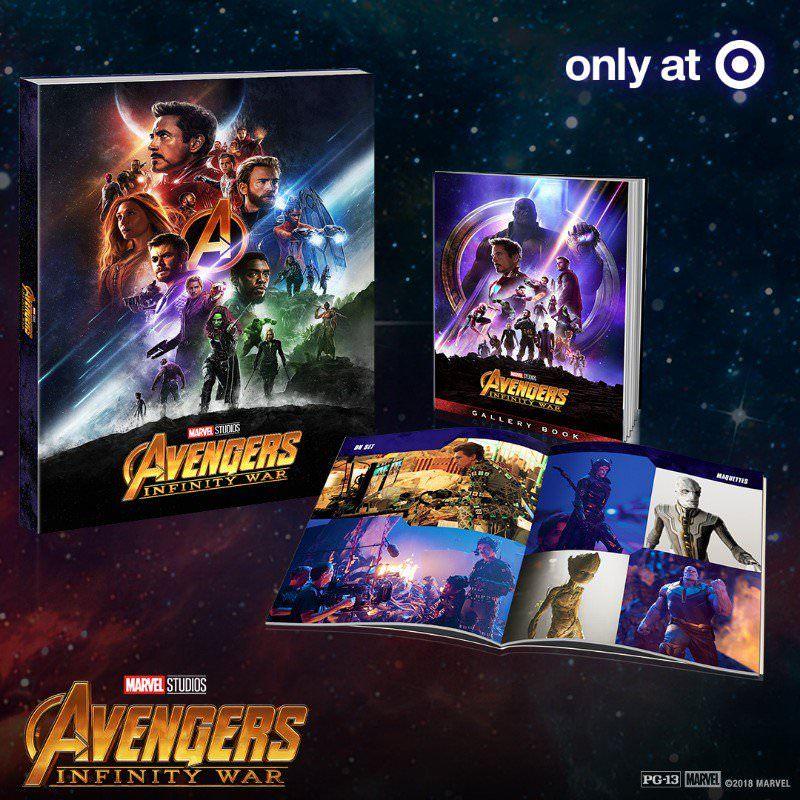 Avengers Infinity War Target Exclusive 4k Blu Ray Release With Images Avengers Infinity War Infinity War Avengers