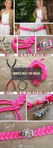 Photo of Einfache Gürtel DIY Ideen! einfache gürtel diy ideen einfache ideen DIY cein …