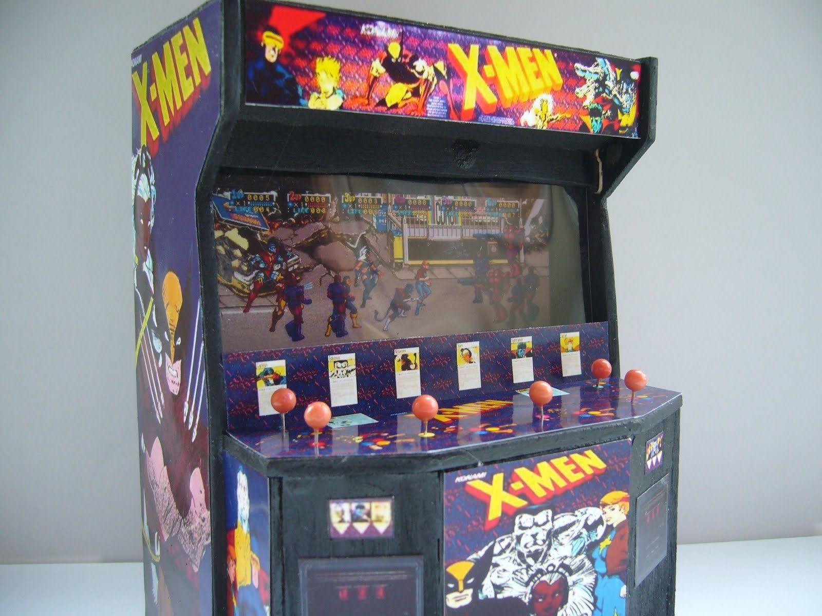 X Men Arcade Cabinet Arcade Games Arcade Arcade Video Games