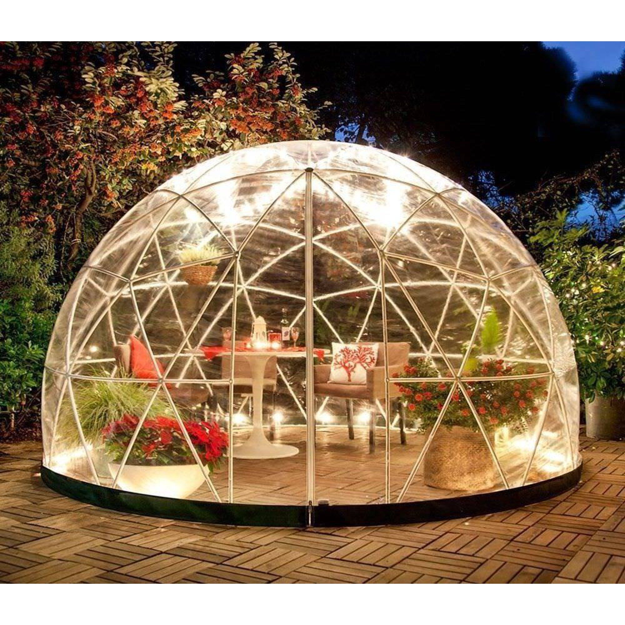 Garden Igloo - 12' Walk-In Garden Dome Igloo - Walmart.com