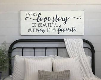 Bedroom Wall Decor Wood Sign Song Of Solomon I Have