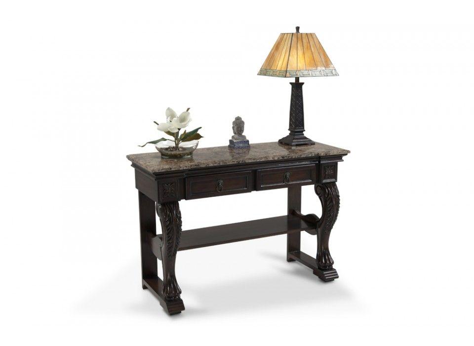 Elegant Marble Hall Table