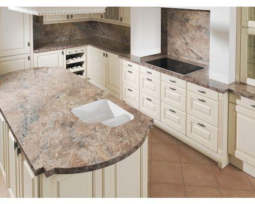 Küchenarbeitsplatte Piccante Goya Hochglanz 3600x600x38 mm ...
