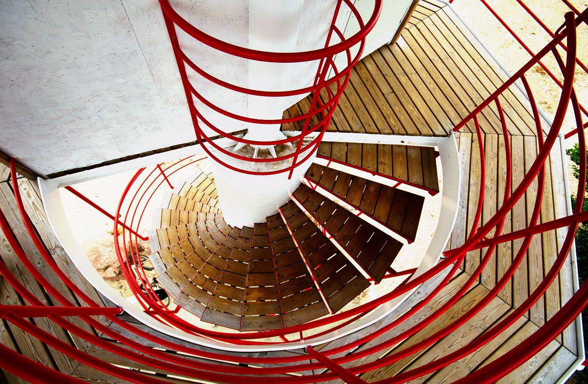 Kabli observation tower stair, Estonia