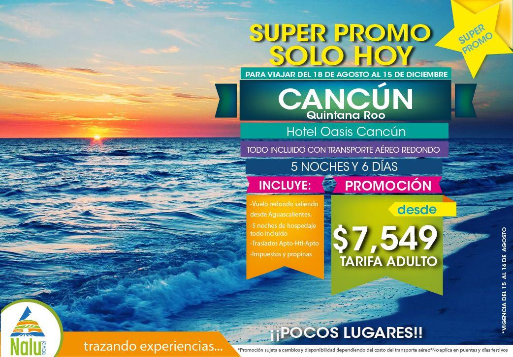 #PromoCancún