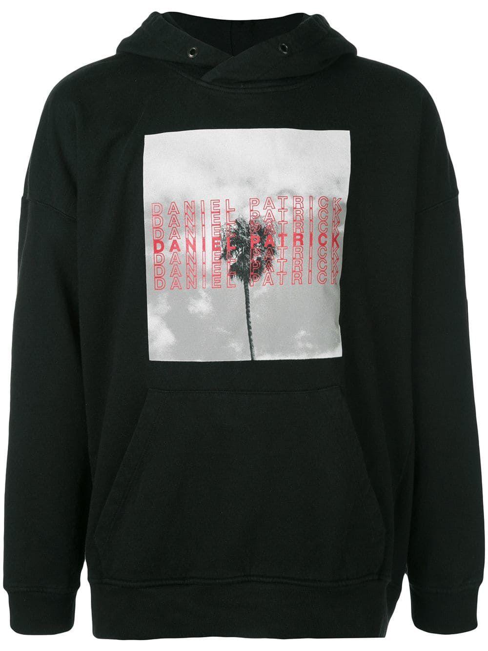 Daniel Patrick La Palm Hooded Sweatshirt In Black Modesens In 2020 Hooded Sweatshirts Black Sweatshirts Daniel Patrick [ 1334 x 1000 Pixel ]