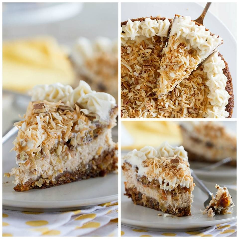 Carrot cake cheesecake the cheesecake bible review