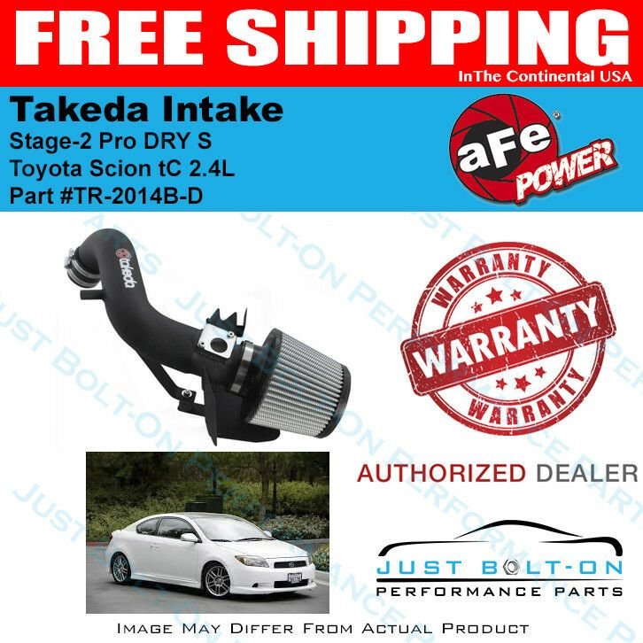 AFE Power Takeda Stage 2 DRY Cold Air Intake For Nissan 350Z 03-06 3.5L Polished
