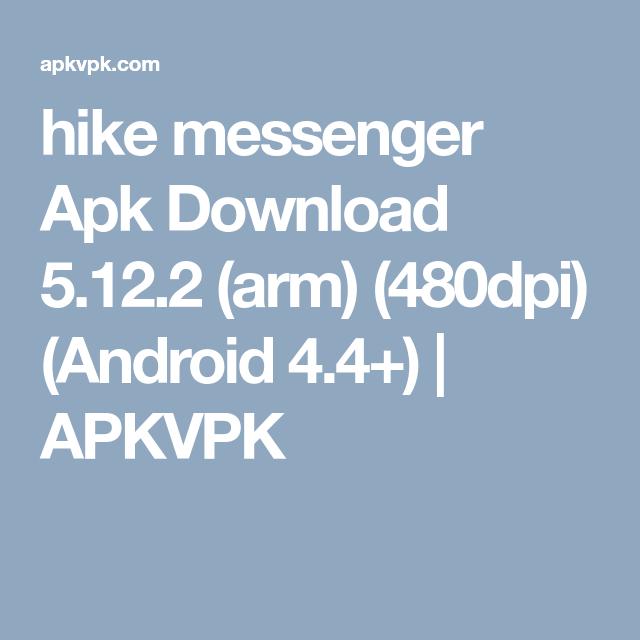 hike messenger apk download