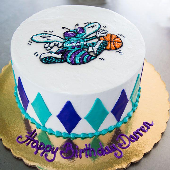 Charlotte Hornets cake Cake 002 Sports Themed Cakes