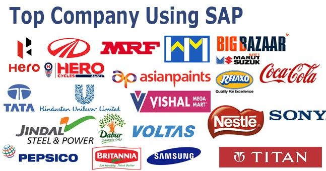 List of top companies using SAP software  ERP software is