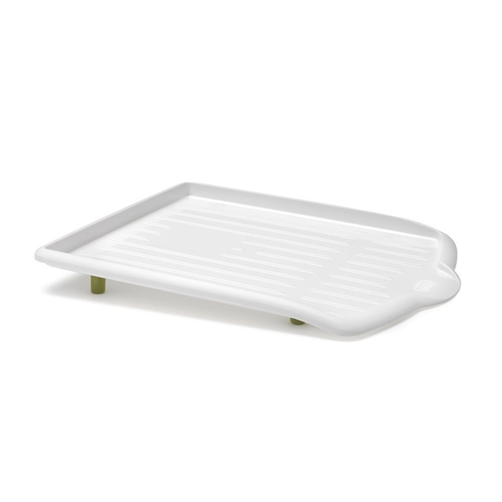 Addis Plastic Sink Top Drainer Tray For Cutlery Glasses Home Kitchen  Caravan White With Green Feet. Green Feet To Give A Oblong Style. It Will  Be Answered.