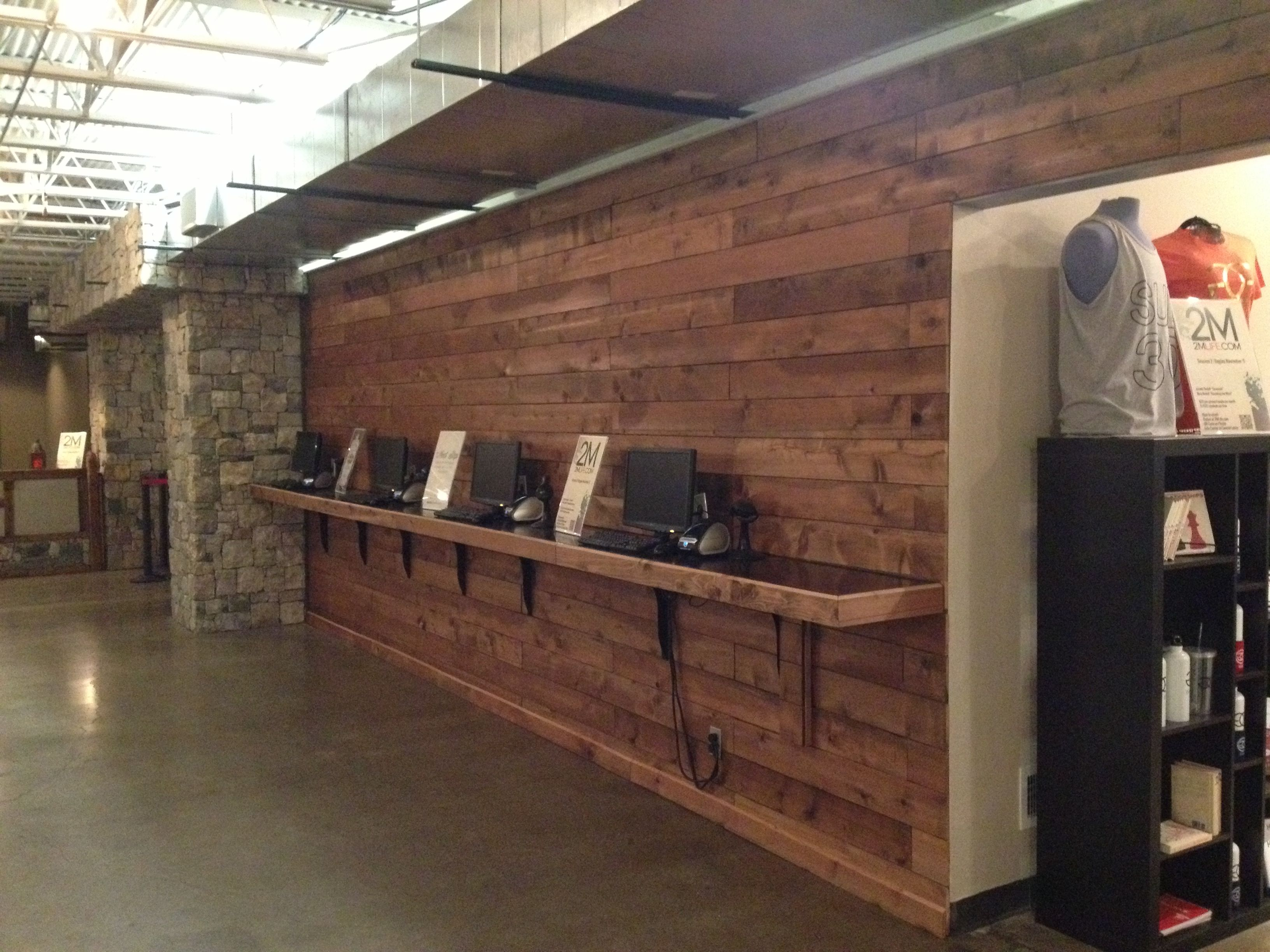 wall out of cedar fence pickets my style pinterest