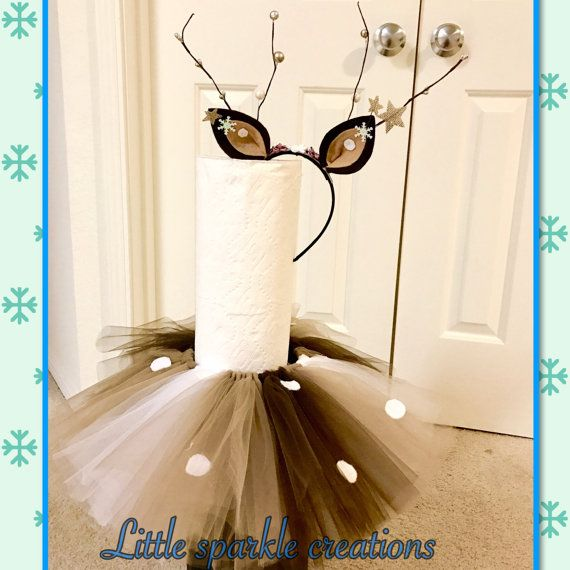 deer costume deer antler headband deer tutus in 2019. Black Bedroom Furniture Sets. Home Design Ideas