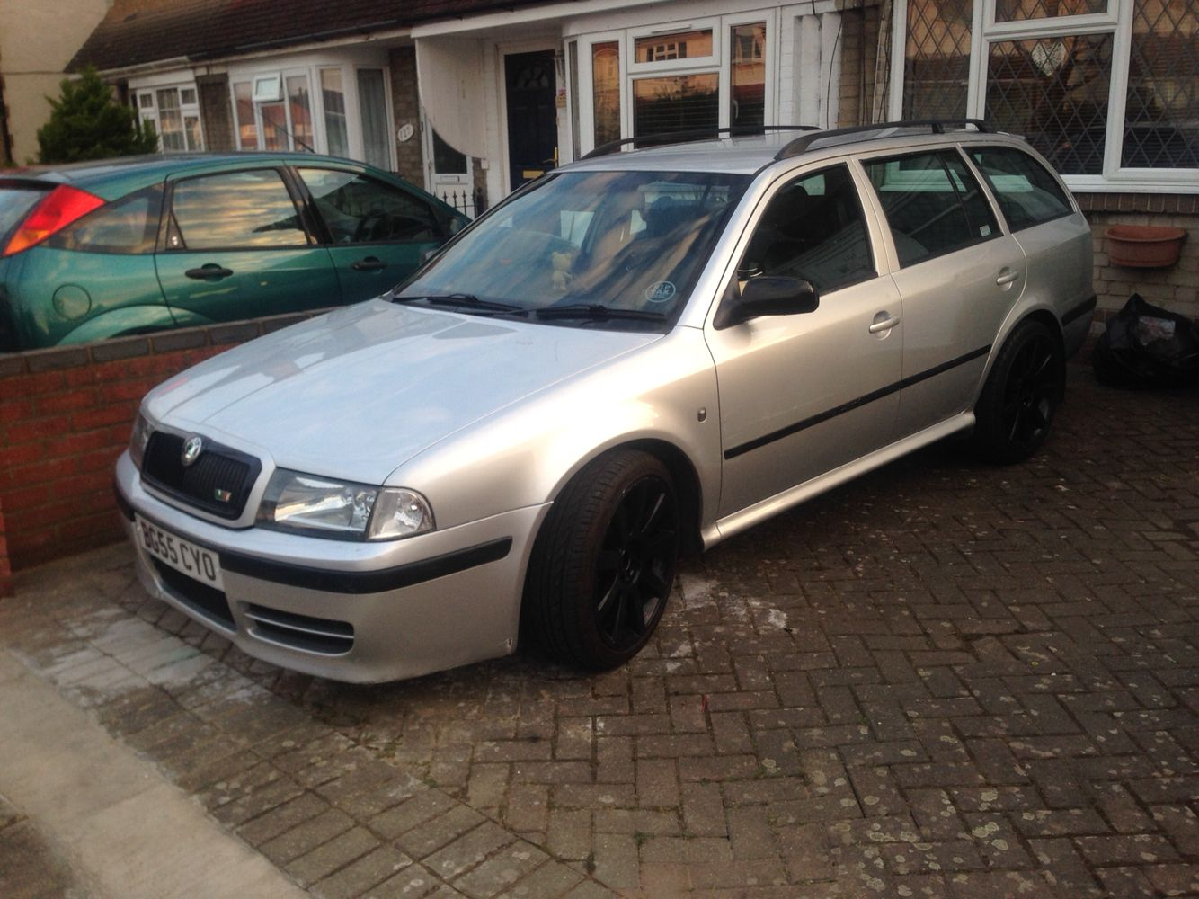 My project slowly ing along Skoda Octavia vrs turbos