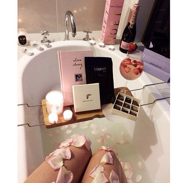 Please follow me @SlayBeauty101 for more awesome pins! | Relaxing bath, Home spa, Bath