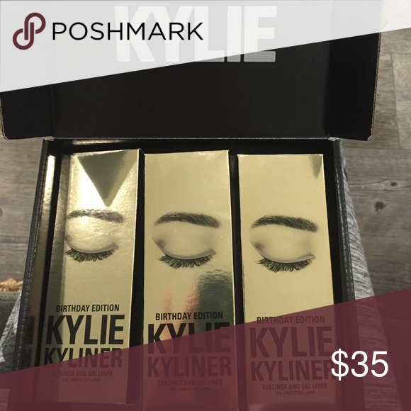 Dark Bronze Kylie Cosmetics Kyliner ONE LEFT! Unopened and new. Packing slip and box included if wanted. 36$ with 4$ ship on M. Kylie Cosmetics Makeup Eyeliner