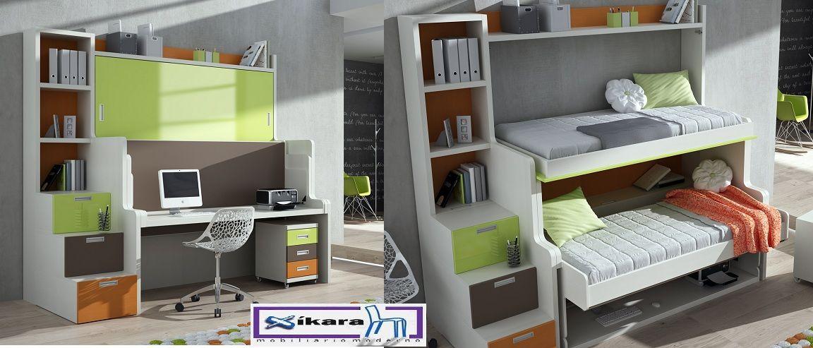 cuarto de niños con poco espacio - Buscar con Google | Muebles y ...