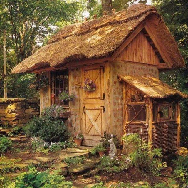 Fairytale house | Außergewöhnliche Gartenhäuser | Pinterest