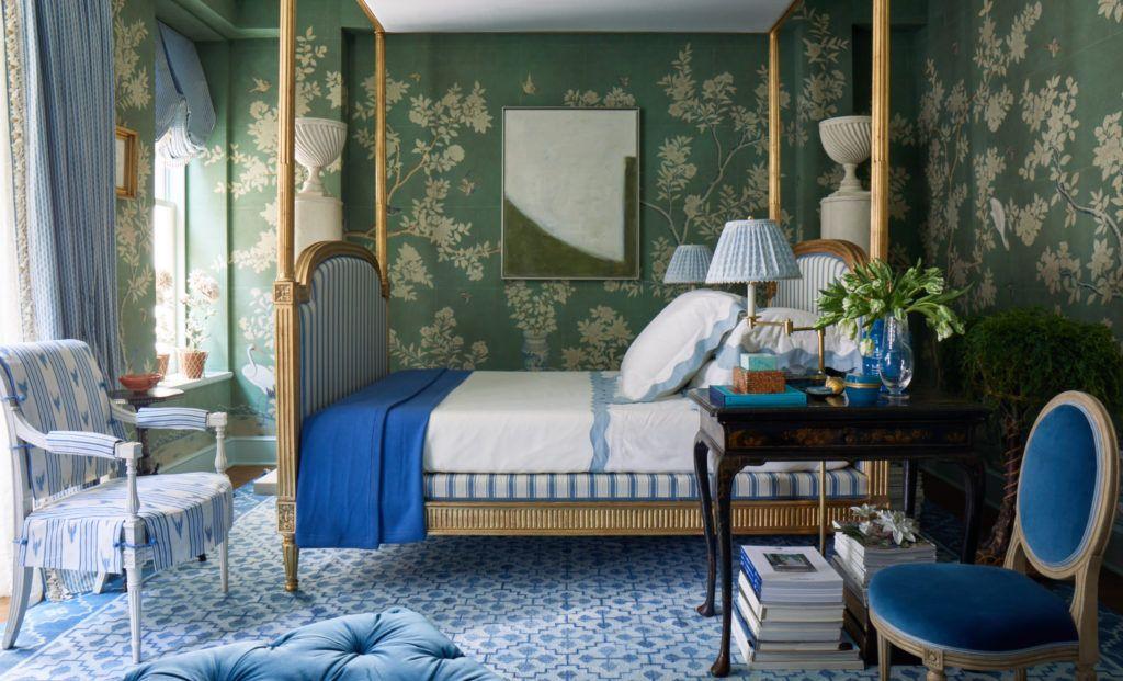 Kips Bay 2018 Mark D. Sikes in 2020 Soothing bedroom