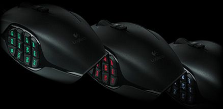 6a6cfbbce23 Logitech G600 MMO Gaming Mouse, RGB Backlit, 20 Programmable Buttons ----