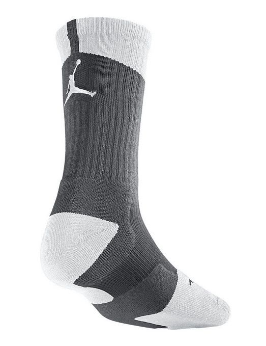 Calcetines Air Jordan Dri fit Crew Gris blanco | Calcetines
