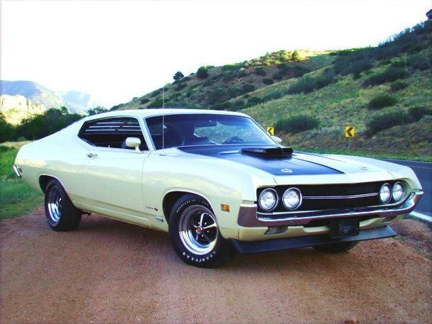 – 1970 Ford Torino Fastback –   #car #specialscars #classiccar #mustang #chevrol…