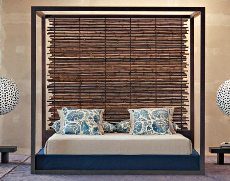 modern and natural -- all about this look!  You can get a fencing panel just like this through BambooBuddy at your nearby @Lowe's store!
