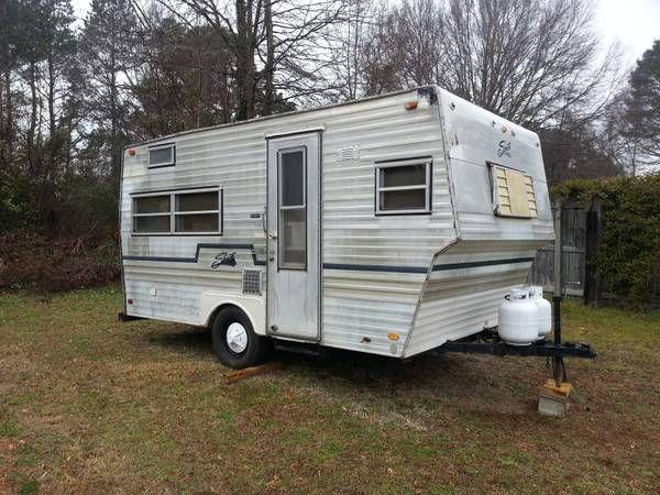 1974 Shasta Camper Trailer 1500 Shasta Camper Vintage Camper Camper Trailers