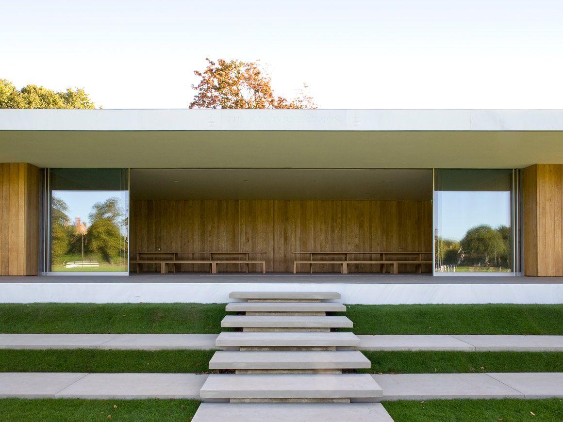 Martyrs Pavilion School Buildings Garden Pavillion Pavilion