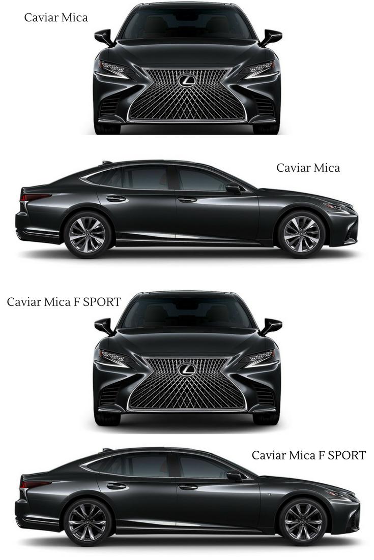 Lexus LS in Caviar Mica exterior. LOVE! Lexus ls, Lexus