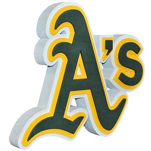 watch e8fe2 b82ed Oakland Athletics 3D Foam Logo Sign - MLB.com Shop | The ...