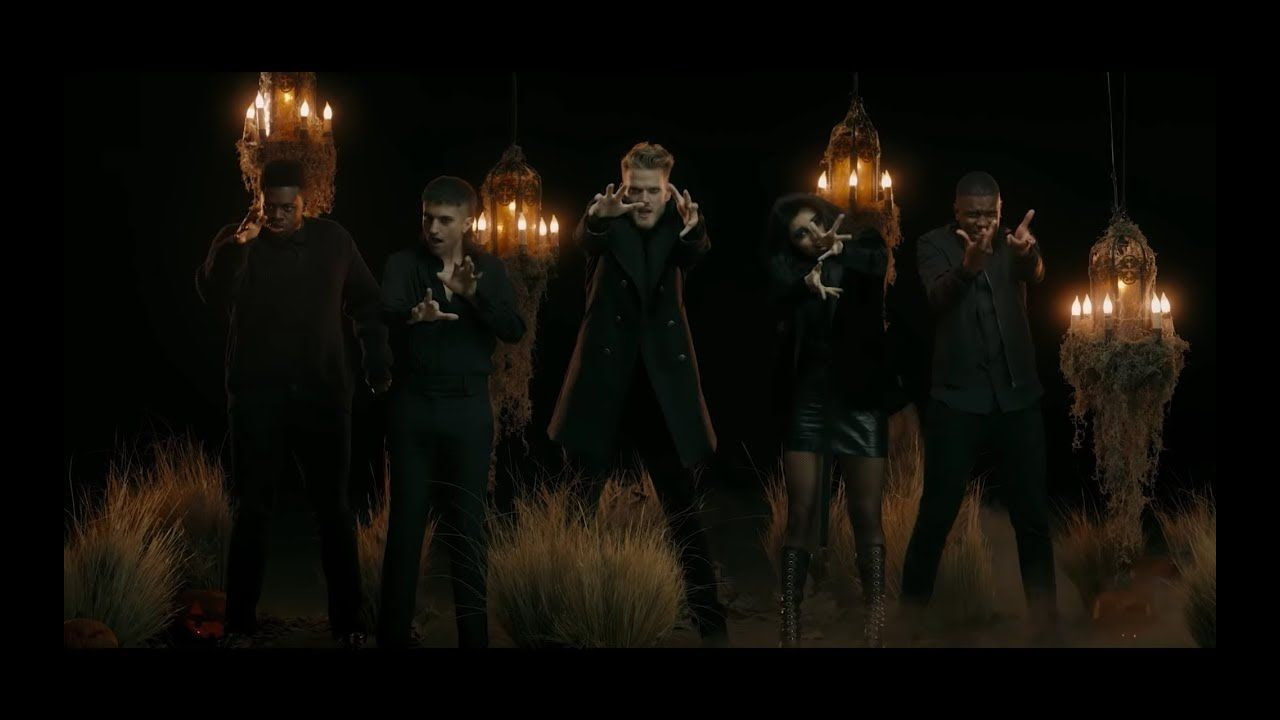 Official Video Making Christmas From The Nightmare Before Christmas Pentatonix You Nightmare Before Christmas Songs Pentatonix Christmas Music Videos