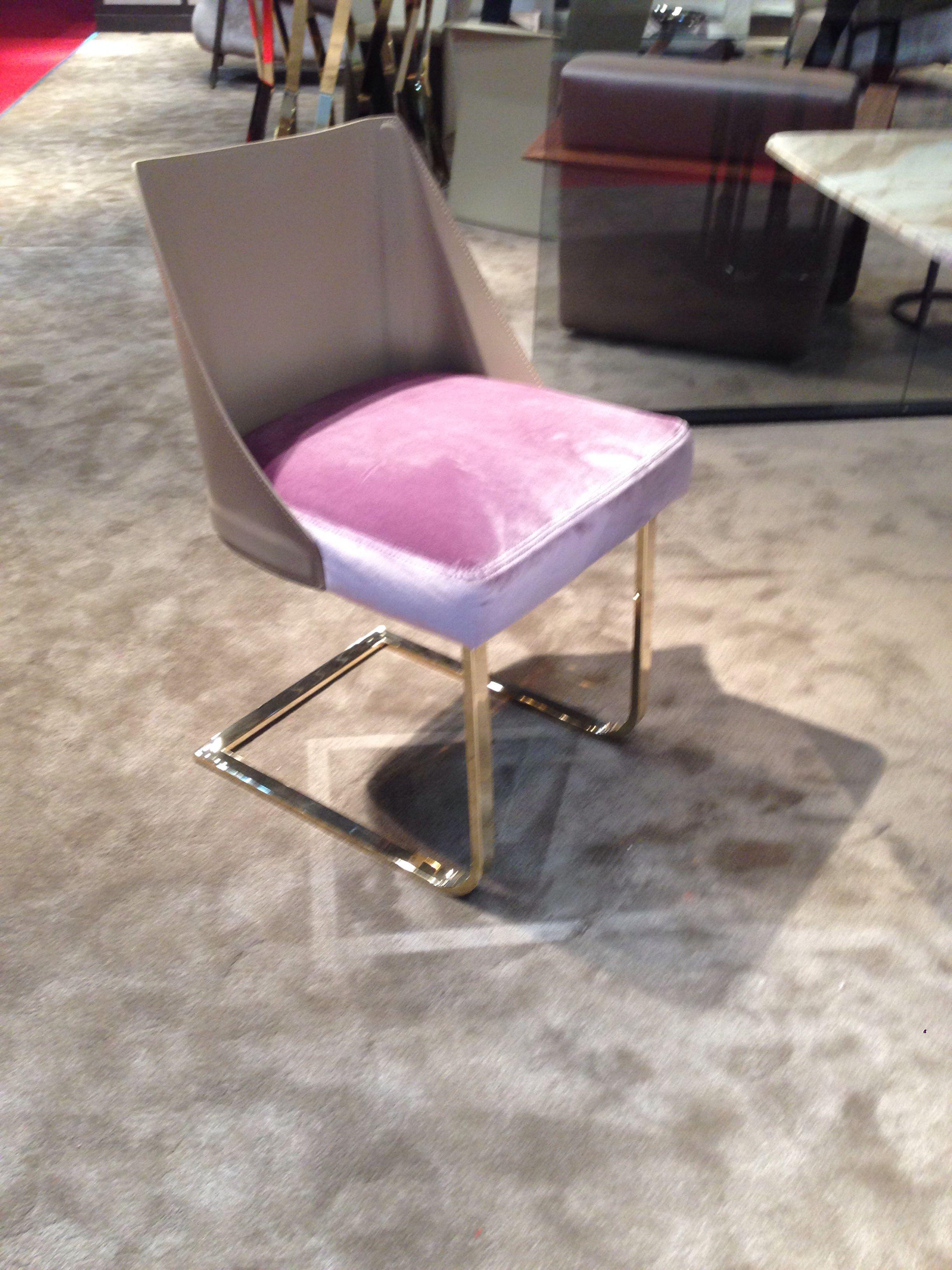 We #love klab #design #chair #velvet #leather #emma
