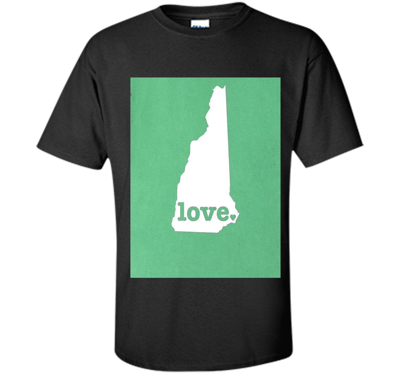 New Hampshire Love - Hometown State Pride Premium T-Shirt