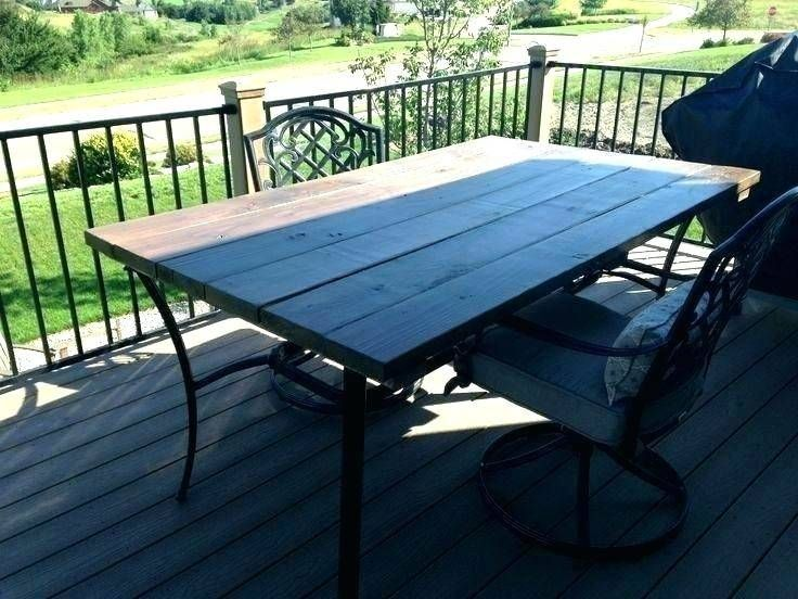replacement table top for patio furniture  outdoor table