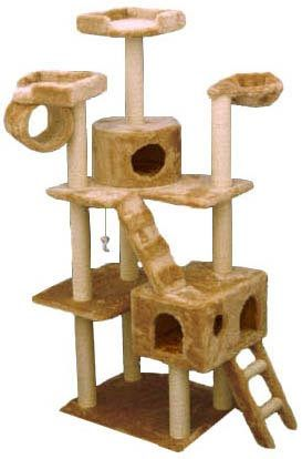 Cat Climbing Tree With Cat Condos Cat Tree Cat Climbing Tree Cat Furniture