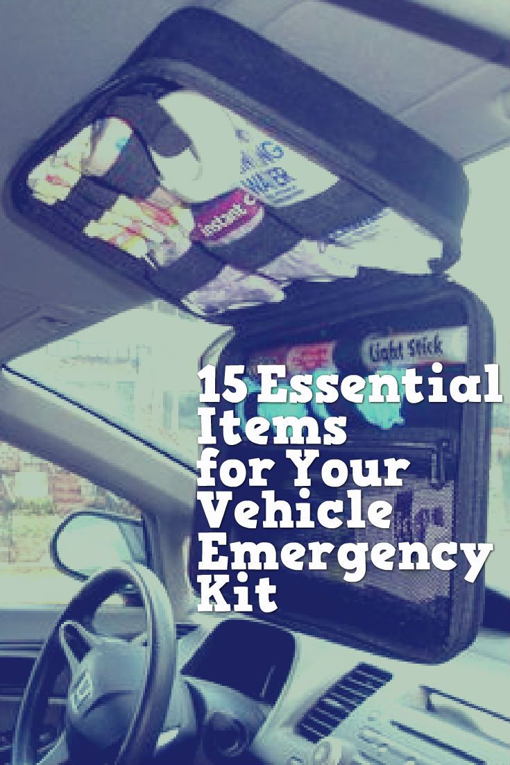 15 Essential Items for Your Vehicle Emergency Kit   Auto