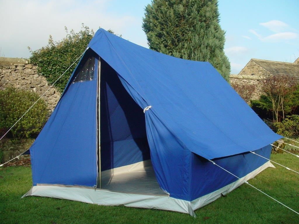 Giant Pearl 6 Person Ridge Canvas Tent Dome Tent Tents