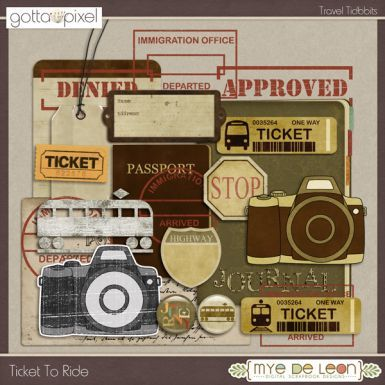 Ticket To Ride Travel Tidbits