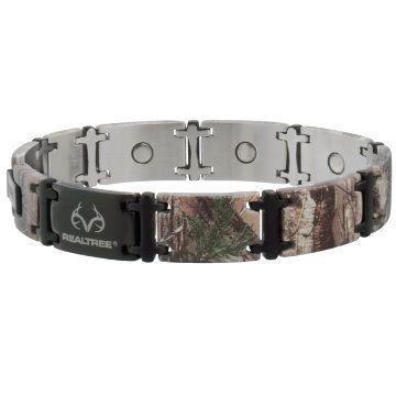 Sabona Realtree Camo Black Magnum Magnetic Bracelet Model 446