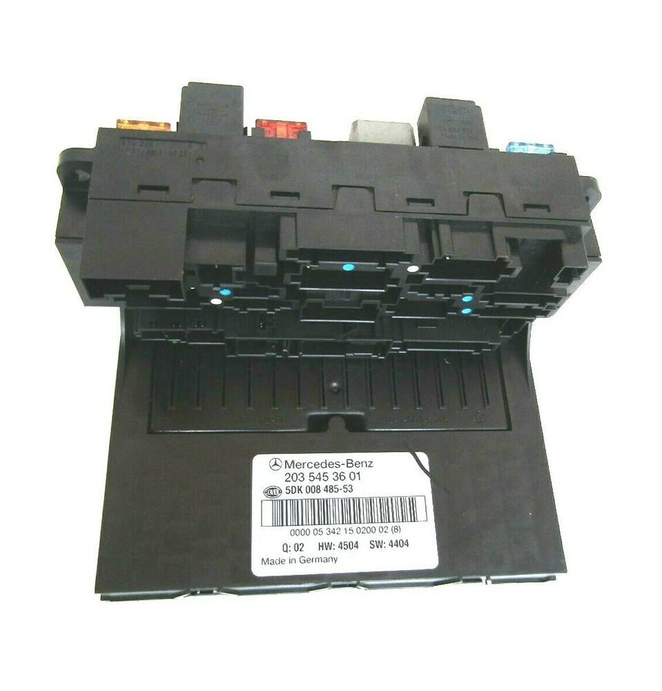 hight resolution of mercedes c class w203 clk w209 front fuse box sam unit a2035453601 mercedesbenz