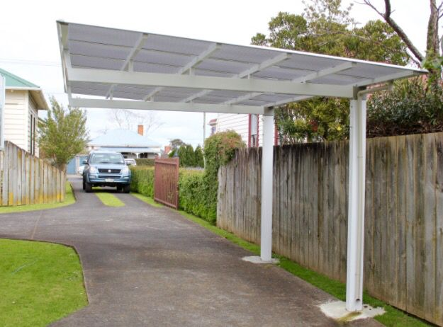 Single Sided Cantilever Units Require Little Room For Installation While Maximizing Space Utilization Pergola Outdoor Spaces Carport Designs Outdoor Pergola
