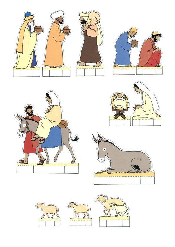 Personnage De Creche A Faire Soi Meme : personnage, creche, faire, Kerstfeest, Kleuters, Bricolage, Noel,, Creche