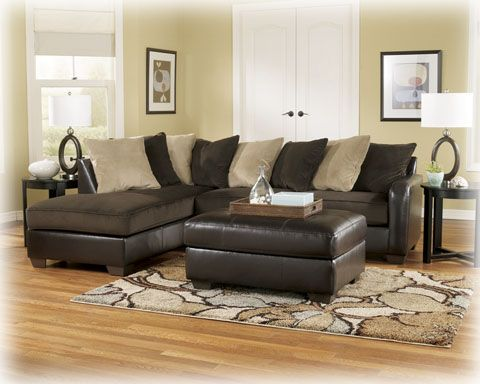 Ashley home furniture Gemini - Chocolate RAF Corner Chaise 1120017 ...