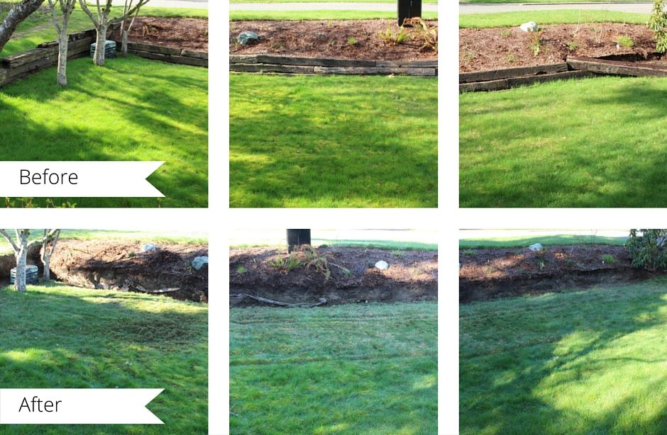 Diy Removing A Railroad Tie Retaining Wall Railroad Tie Retaining Wall Landscaping Retaining Walls Railroad Ties