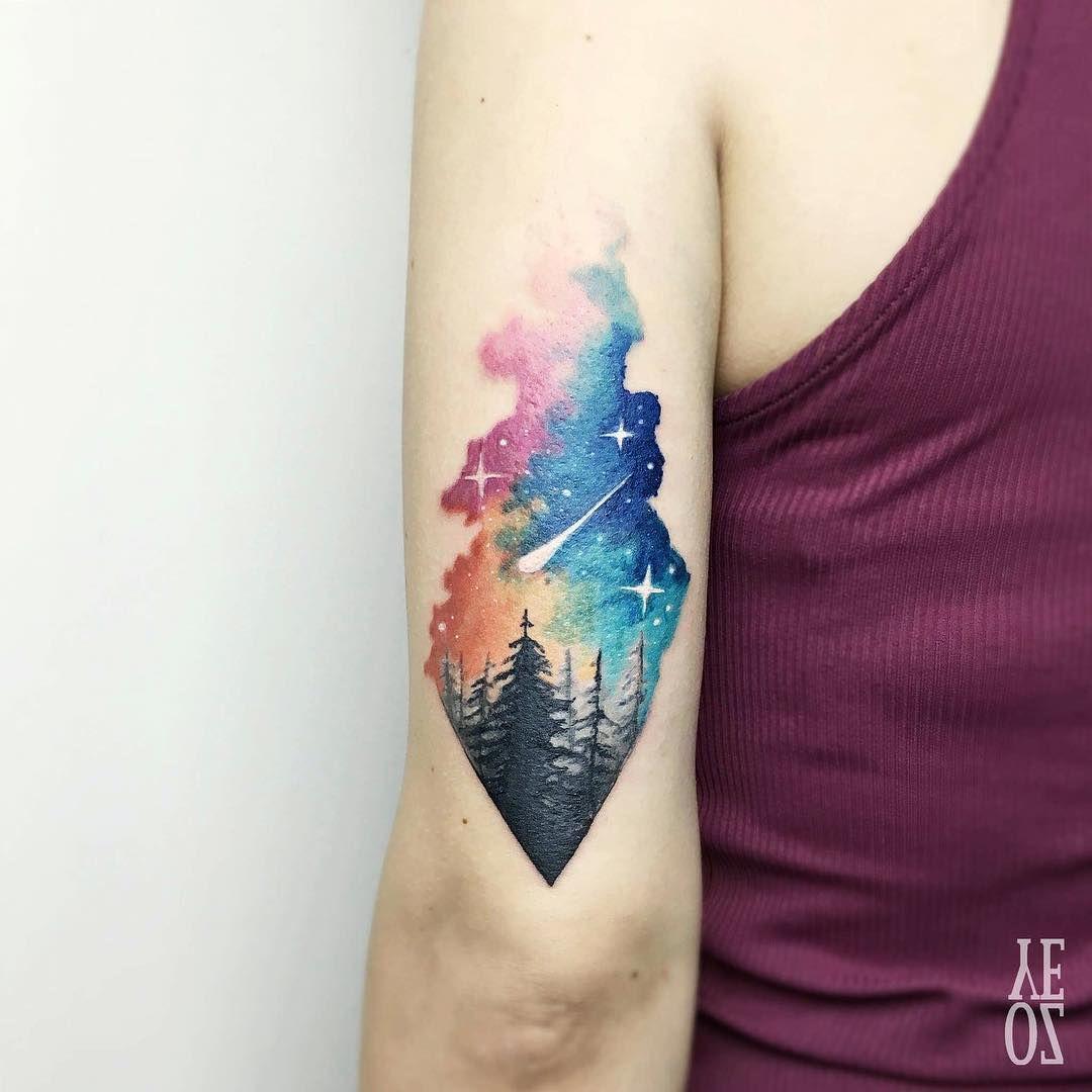 Tattoos, Landscape Tattoo