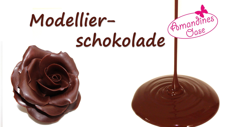 Modellierschokolade | viele Infos, Anleitung zum Einfärben & Rezept ...