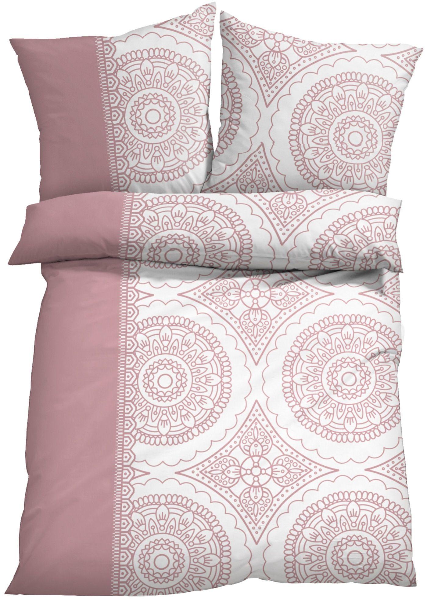 Bettwasche Svenja Linon Bettwasche Bett Und Farbstreifen