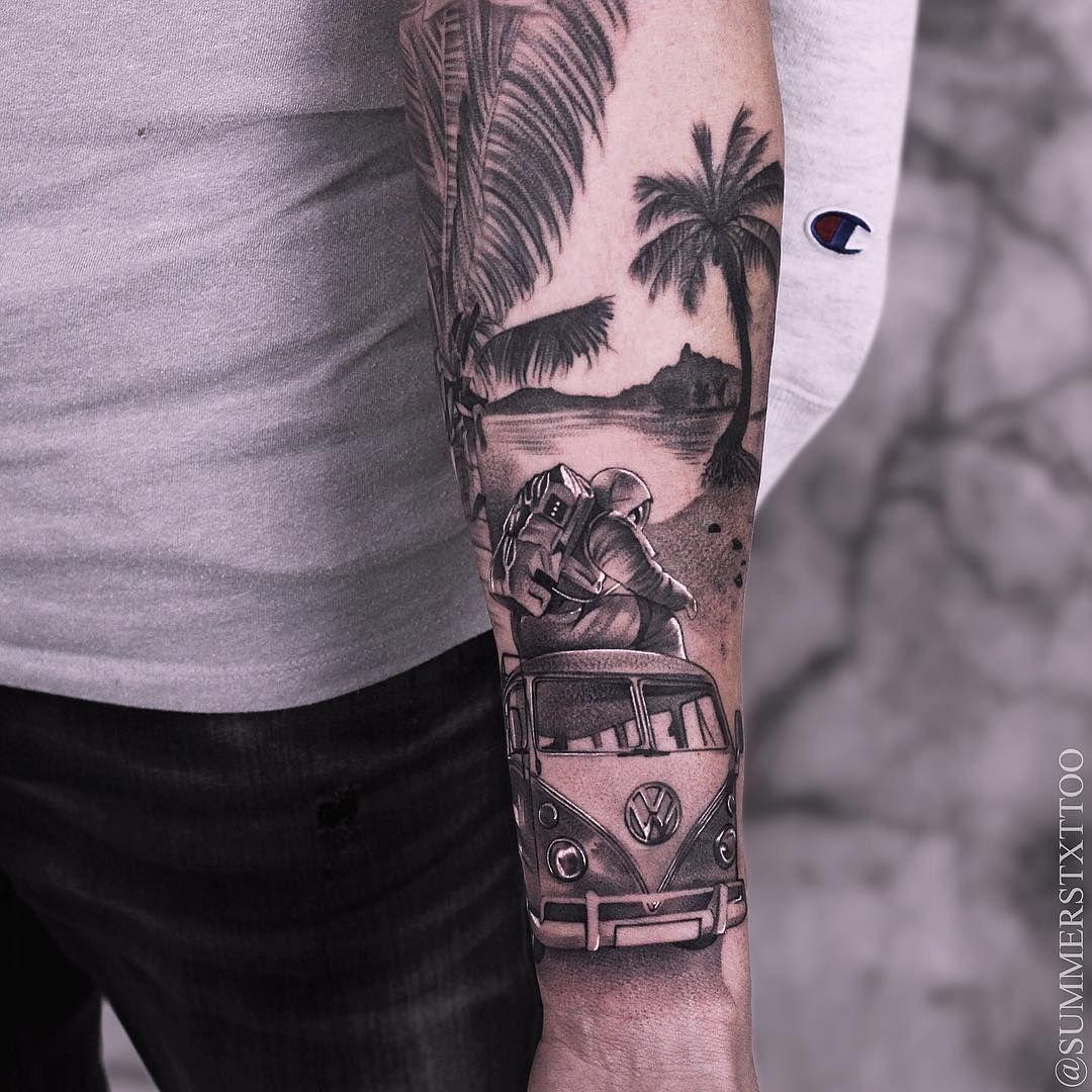 Tattoo artist Evan Summers Pomysły na tatuaż, Tatuaże i